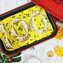 #美食新势力#100分抱蛋煎饺,送给所有人的满分祝福