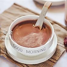 红豆红枣紫米豆浆