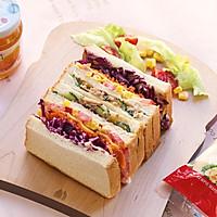 芒果金槍魚三明治的做法圖解13