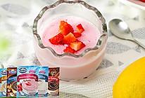 肯托 进口草莓/香蕉/香草/巧克力/巧克力榛子味布丁粉的做法