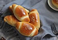 #美味烤箱菜,就等你来做!#春游早餐必不可少的牛角餐包的做法