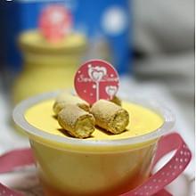 可爱点心:南瓜乳酪慕斯小蛋糕