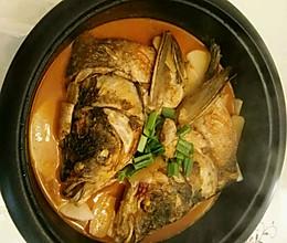 鱼头火锅的做法