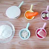 开胃解腻的萝卜小肉饼 宝宝辅食食谱的做法图解1