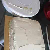 8寸生日蛋糕(方形)的做法图解7