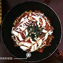大阪烧风味煎饭团