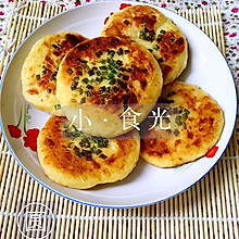早餐换着吃(火腿土豆饼)