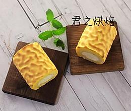 漂亮的虎皮蛋糕卷儿,喜欢吗?的做法