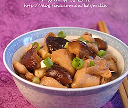 香菇蒸鸡腿的做法