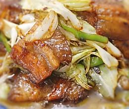 莲白回锅肉的做法