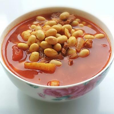 产妇汤品——番茄黄豆牛肉汤