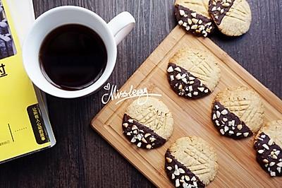 巧克力花生酱饼干_无泡打粉