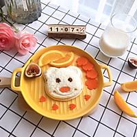 元气早餐:小熊三明治的做法图解9
