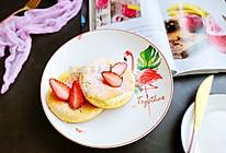 #带着零食去旅行!#平底锅做舒芙蕾松饼的做法