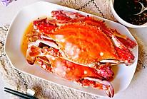 #一周减脂不重样#清蒸鲜活梭子蟹的做法
