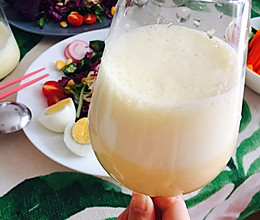 牛奶玉米汁(破壁料理机版)的做法
