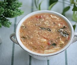 疙瘩汤——过节大吃后解腻神器的做法