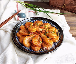 酸酸甜甜滴茄汁大虾的做法