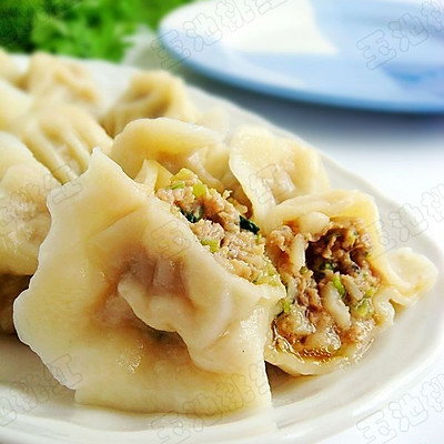 肉芹菜莲藕饺子