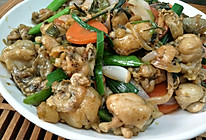 紫苏田鸡干锅的做法