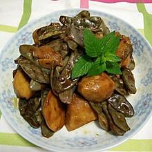 扁豆烧芋子