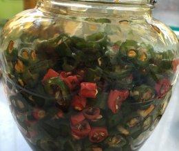 辣椒咸菜的做法