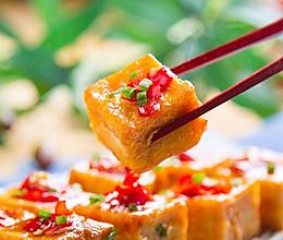 酒酿剁椒烧豆腐的做法