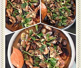 水煮海鲜的做法