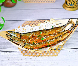 #人人能开小吃店#孜然辣酱烤秋刀鱼的做法