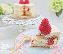 【美食魔法】草莓奶油蛋糕 东京制果学校大师配方的做法