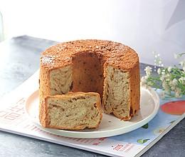 #春季减肥,边吃边瘦#6寸咖啡味戚风蛋糕(详细)的做法