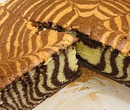 0失败的斑马条纹蛋糕的做法