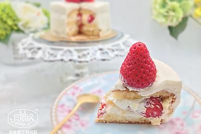 【美食魔法】草莓奶油蛋糕 东京制果学校大师配方