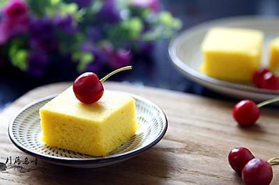 不加一滴油的糯米蒸蛋糕#方太蒸爱行动#
