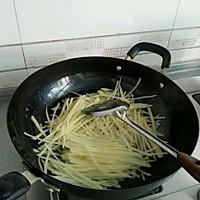 沙茶牛肉炒土豆丝的做法图解7