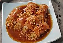 超级美味下饭~金针菇培根卷的做法