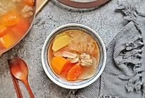 海底椰木瓜排骨汤的做法