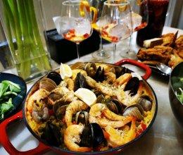 Paella西班牙海鲜饭的做法