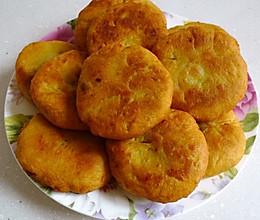 奶香红薯饼的做法