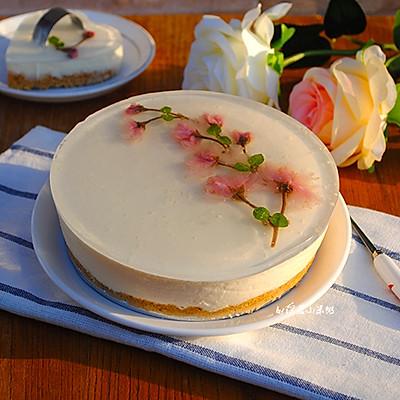 樱花慕斯蛋糕~鸡尾酒版