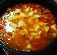 西红柿土豆炖牛腩的做法图解5