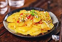 #太太乐鲜鸡汁玩转健康快手菜#香辣孜然土豆片的做法