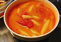 开胃番茄面疙瘩的做法