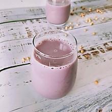 紫薯豆浆#做道懒人菜,轻松享假期#