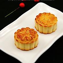 纯白莲蓉月饼