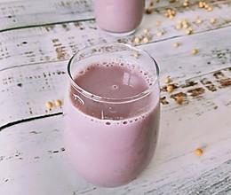 紫薯豆浆#做道懒人菜,轻松享假期#的做法