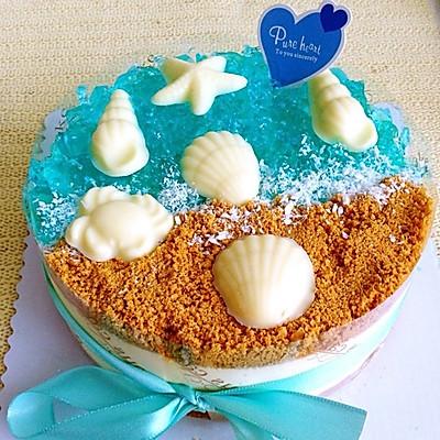 「freetime」海洋酸奶慕斯蛋糕