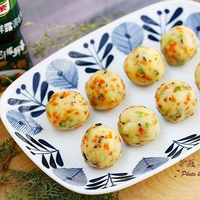 杂蔬土豆球