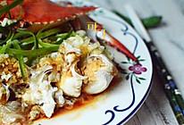 葱油梭子蟹蒸粉丝的做法