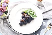 #福气年夜菜#紫气东来之紫薯奶酪球的做法